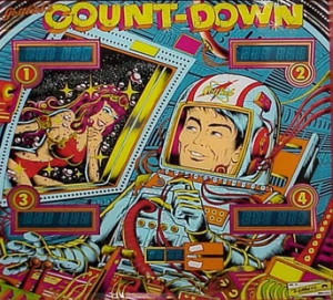Count Down: The Pinball Wizard LLC - Pinball Machine Parts